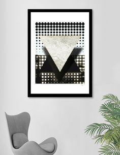 «Absence of Self Techno, Pop Art, Fine Art Prints, Paper, Frame, Artist, Artwork, Modern, Design