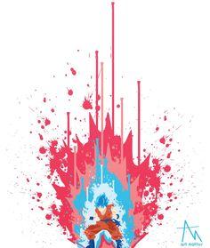 DBS- Super Saigon Blue Kaiken Goku