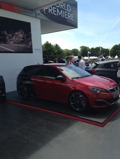 World premiere for the #Peugeot308GTi at #Goodwood Festival of Speed