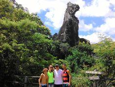 Pedra do Cão Sentado (Nova Friburgo-RJ) #novafriburgo #serra #friburgo #caosentado #trilha #family #turismo #lazer