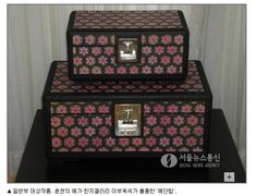 예단함, 한지공예,hanji, korea paper, 강원도공예품대전 대상,