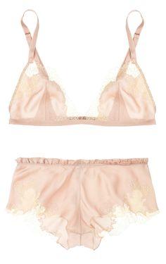 Beautiful nude lingerie