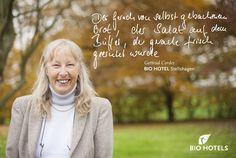Gertrud Cordes, Ihre Gastgeberin im Hotel Gutshaus Stellshagen Bio & Gesundheitshotel #biohotel in #Stellshagen Mecklenburg-Vorpommern #Deutschland