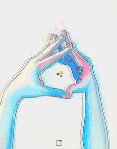 Efecto movimiento de manos