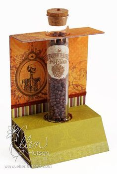 Hocus Pocus Test Tube Treat Holder - the CLASSroom  Could be changed for any holiday or celebration