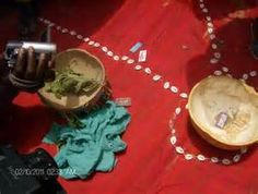 FGM in Lower River Region, the Gambia razors, shells, beads and hand made bowls