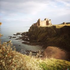 Tantallon Castle in North Berwick, East Lothian