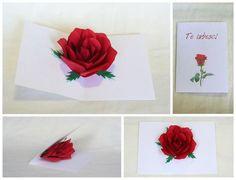 Birthday Greetings, Birthday Cards, Diy Birthday, Pop Up Flower Cards, Pop Up Art, 3d Cards, Kirigami, Diy Halloween Decorations, Creative Cards