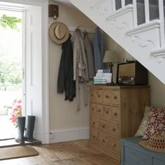 Homely hallway | Hallway design | Decorating ideas | housetohome.co.uk