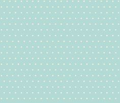 dots blue cream fabric by jillbyers on Spoonflower - custom fabric