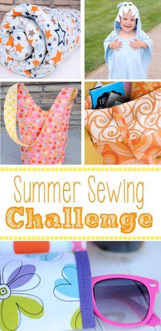 Fun Summer Sewing Challenge-Sew to win prizes
