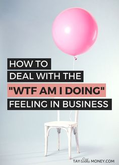 """You're coasting and everything in business is running smoothly. until something derails the vision leaving you a little lost. Here's how to combat the """"wtf am I doing"""" feeling before it sabotages your freelance business. Small Business Start Up, Business Help, Business Advice, Home Based Business, Small Business Marketing, Starting A Business, Business Planning, Business Design, Creative Business"""