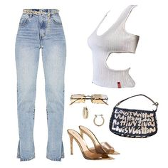 Ivy Fashion, Denim Fashion, Trendy Fashion, Vintage Fashion, Womens Fashion, Fashion Trends, Fashion Styles, Cute Swag Outfits, Chill Outfits