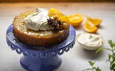 Тунисский апельсиново-миндальный пирог Food Network Россия