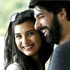 My favorite picture from KARA PARA ASK, Tuba Büyüküstün as Elif and Engin Akyürek as Ömer in the Turkish TV series KARA PARA ASK, 2014-2015.