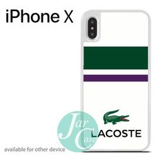 lacoste logo Phone case for iPhone X