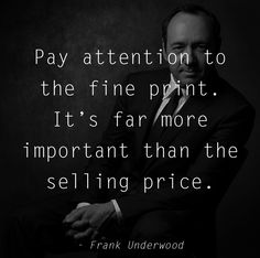 Follow us for more House of Cards Quotes
