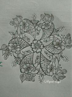 Peacocks special.. 3d Rangoli, Peacock Rangoli, Rangoli Kolam Designs, Rangoli Ideas, Simple Rangoli, Dot Painting, Fabric Painting, Crewel Embroidery, Embroidery Patterns