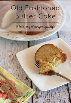 This Old Fashioned Butter Cake Recipe is moist and delicious, the epitome of buttery goodness!