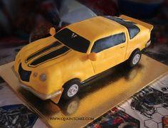 1969 Camaro Bumble Bee cake by quaintcake, via Flickr