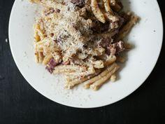 poropasta - Hanna G Waffles, Spaghetti, Meat, Breakfast, Ethnic Recipes, Lifestyle, Food, Morning Coffee, Meals