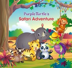 Experience the safari adventure with Purple Turtle and his friends. Run, roam, walk, jump, laugh and scream through the wild jungle with Purple Turtle. Buy now! Kindergarten Science, Teaching Science, Teaching Ideas, Childrens Ebooks, Purple Turtle, Safari Adventure, Kids Story Books, Reading Intervention, Reading Lessons