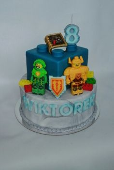 Lego Nexo  Knights  cake
