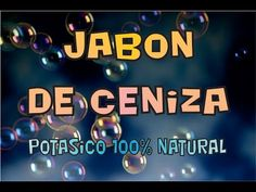 Com fer sabó amb lleixiu de cendra Natural Shampoo, Body Soap, Diy Cleaning Products, Permaculture, How To Make Money, Lol, Youtube, Health, Tips