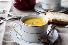 Parsnip and Potato Soup: Homemade, creamy, slightly sweet, Parsnip and Potato Soup