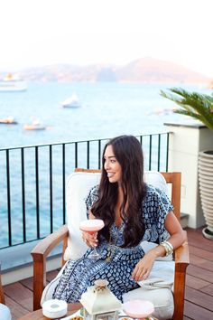 Sunset Dinner at JK Place, Capri, Italy.