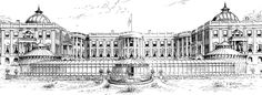 Rejected White House design 1890