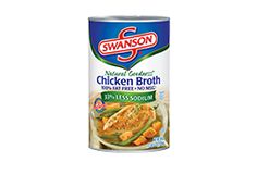 Swanson®'s Natural Goodness® Chicken Broth 49 oz. can