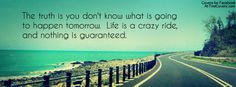 Highway Facebook Background Cover with Quotes