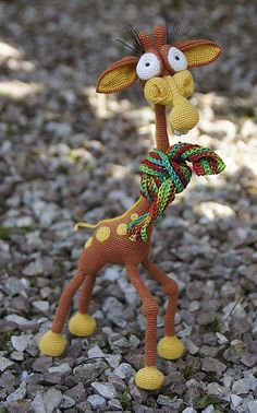Giraffe George Amigurumi : Mais de 1000 imagens sobre Amigurumi no Pinterest ...