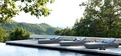 lounge chair pool outdoor Tosca