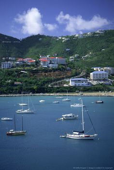 St. Thomas Virgin Island shoreline