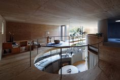 interior of Pit House in Okayama, Japan / by UID Architects