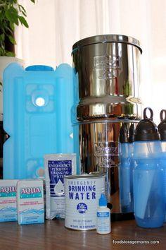 Water Preservation-101 by Food Storage Moms