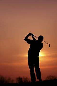 102 Best Golfers Images Golf Painting Silhouettes Father Son