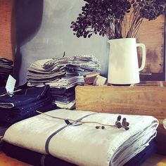 We have just received a new shipment of beautiful linen in #scarletjones #hawthorneast #opentoday
