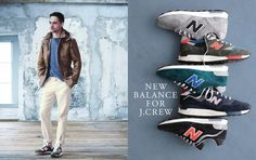 J. Crew August Style guide J Crew Men, Style Guides, New Balance, Menswear, Sneakers, Summer, Fashion, Tennis, Moda