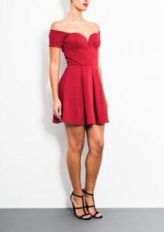 Bardot - Little red dress