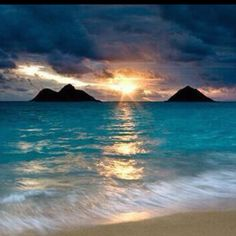 Lanikai, my favorite place in the entire world.