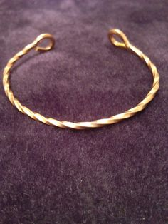 Twisted Copper Wire bracelet - pinned by pin4etsy.com