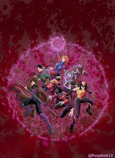 x men red - Artwork from Purplevit