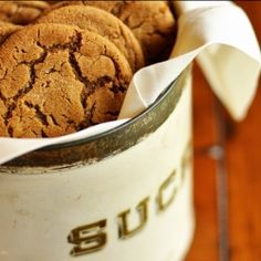 Gingeriest Ginger Molasses Cookies