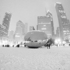AMAZING snow and cold photos from Polar Vortex storm in Chicago