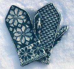 Ravelry: Marka Mittens pattern by Kristen McLaren