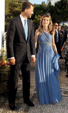Como toda una princesa griega en la boda del Príncipe Niko con Tati