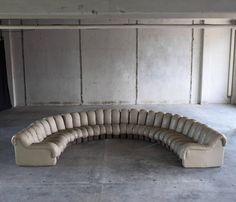large de sede u0027non stopu0027 sectional sofa in 29 pieces